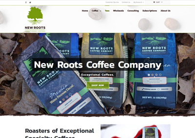New Roots Coffee - www.newrootscoffee.com
